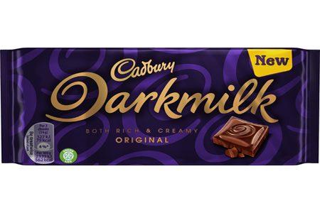 Cadbury introduces new Darkmilk range