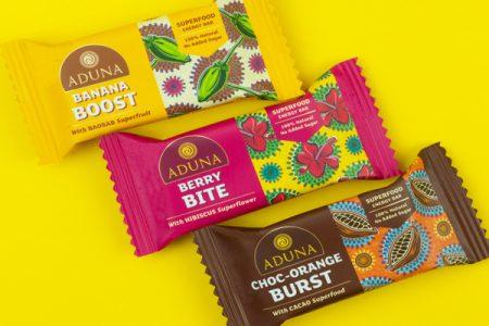 Aduna launches new Superfood Energy Bars