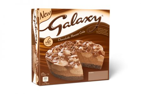 Galaxy Chocolate Mousse Cake makes its frozen dessert debut