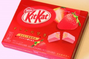 strawberry kitkat