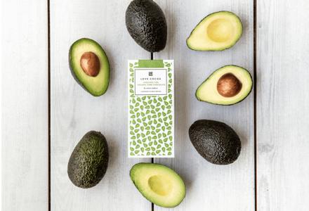 Love Cocoa launches vegan avocado chocolate bar