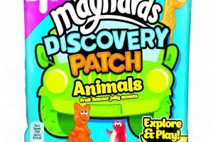 Animal shaped fruity sweets