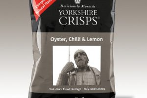 Yorkshire Crisps now in 40g bags