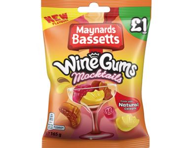 Maynards Bassetts debuts mocktail-flavoured Wine Gums