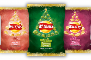 Unusual crisp flavours for Christmas hit shelves