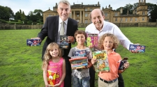 Whitakers adds a touch of confectionery magic to children's literature festival