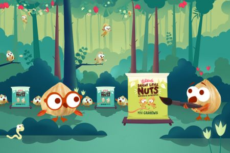 Whitworths presents Bright Little Nuts campaign
