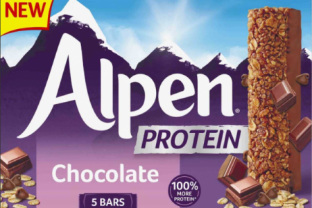 Alpen launches protein bars