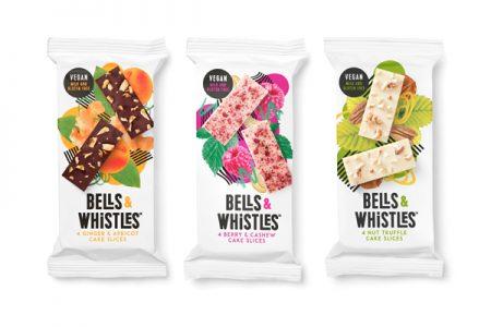 Vegan cake slices from Bells & Whistles