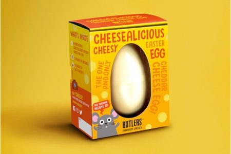 Cheese Easter Egg on sale at Sainsbury's