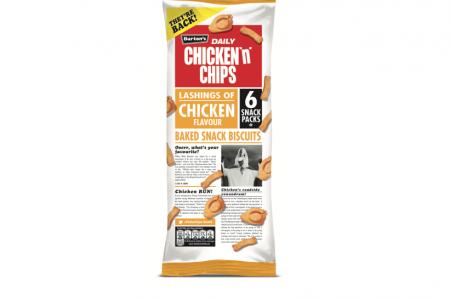 Burton's Chicken 'n' Chips brand returns