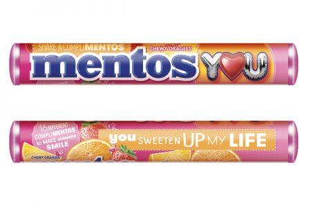 Mentos launch Complimentos campaign