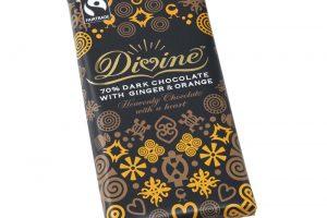 Divine ginger and orange chocolate