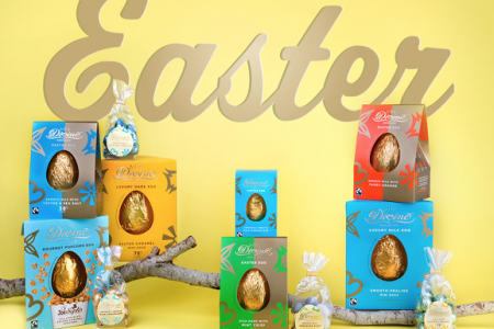 Divine bolsters Easter eggs range