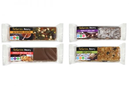 Gluten free snack bars from Fatherson Bakery