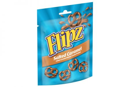 Flipz launches salted caramel variant