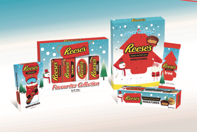 Reese S Christmas Collection To Arrive In Uk Sweets Savoury
