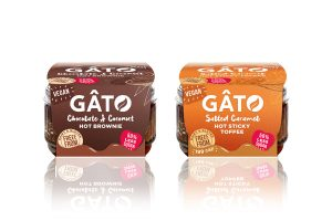 Vegan pudding pots from Gato