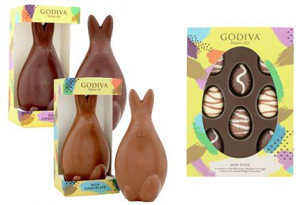 Godiva Easter range