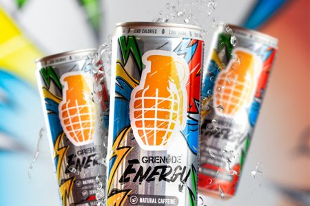 Grenade launches Energy drink