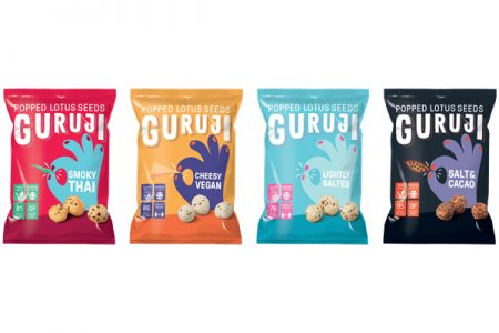 Popped lotus seed brand Guruji hits UK shelves