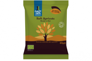 Crazy Jack introduces apricot snack packs