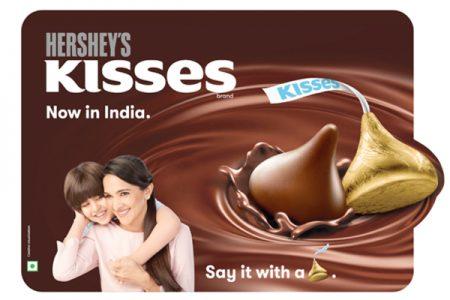 Hershey's Kisses arrive in India