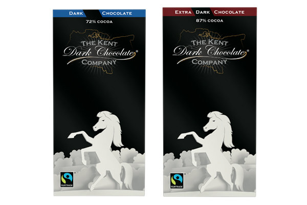 Two new bars from Kent Dark Chocolate Company