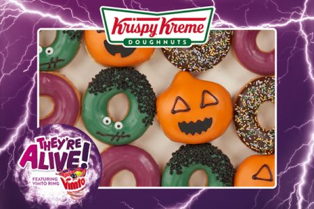 Krispy Kreme and Vimto join together for 'refreshingly different' doughnuts