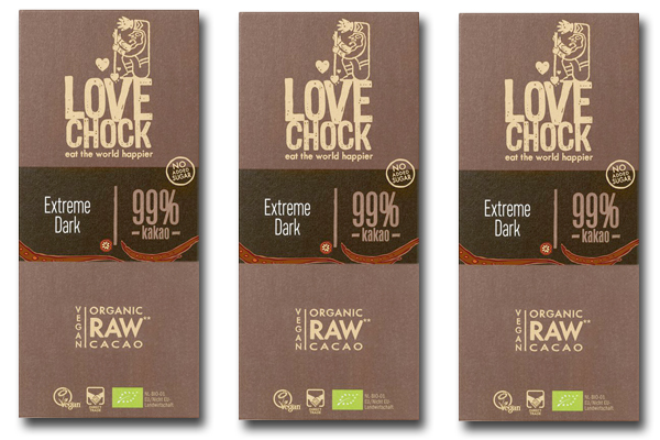 99 Cocoa Bars From Lovechock
