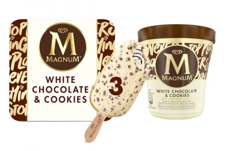 White Chocolate & Cookies from Magnum