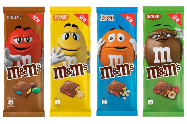 M&Ms expands range in the UK