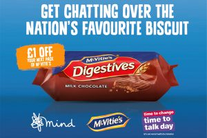 McVitie's backs Time to Talk Day with vouchers