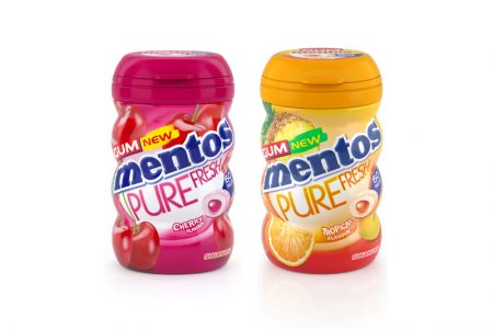 Mentos Pure Fresh Gum gets fruity refresh