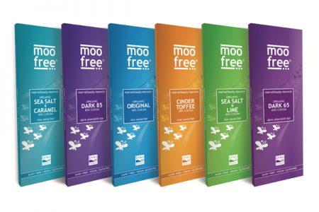 Moo Free Chocolates expands its range