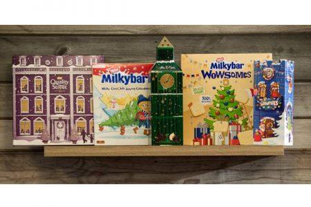 Biggest range of advent calendars from Nestlé