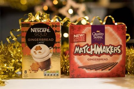 Gingerbread concoctions from Nestlé