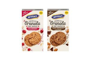 McVitie's launches Granola Oat Bakes
