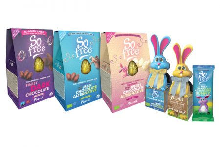 Vegan Easter range from Plamil
