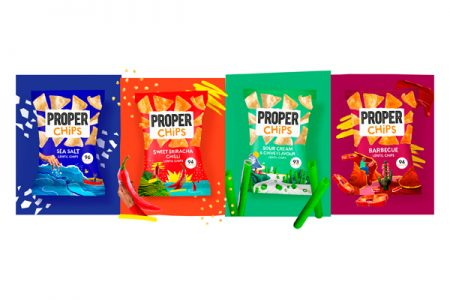 New lentil-based chips from Proper