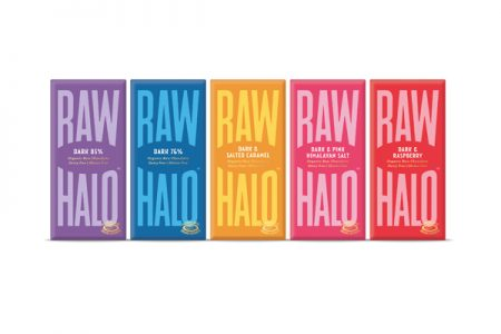 Raw Halo gets new flavours and a new look
