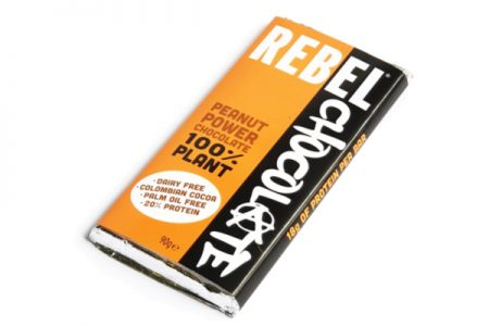 Rebel Chocolate introduces plant-based bar