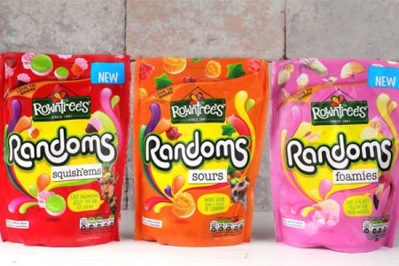 Rowntree's re-brand sees four new additions to Randoms range