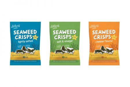 New Seaweed Crisps from Abakus Foods
