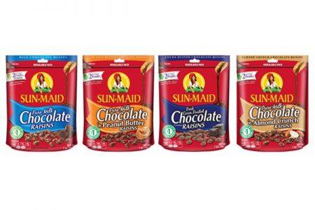 Sun-Maid Raisins introduce three new variants