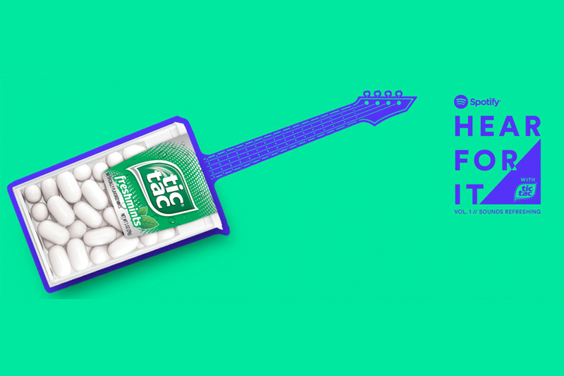 Tic Tac partners with Spotify for live music event