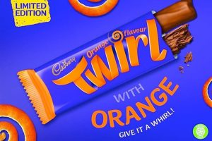 Cadbury to launch Twirl Orange