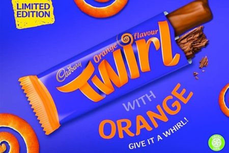 Cadbury to launch Twirl Orange