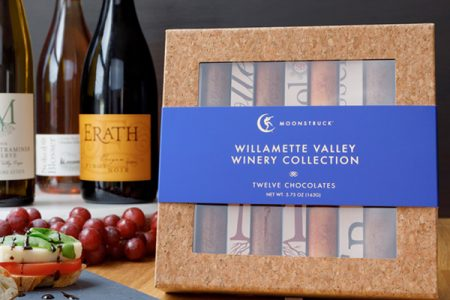 Moonstruck Chocolate Co collaborates with wineries to create new collection