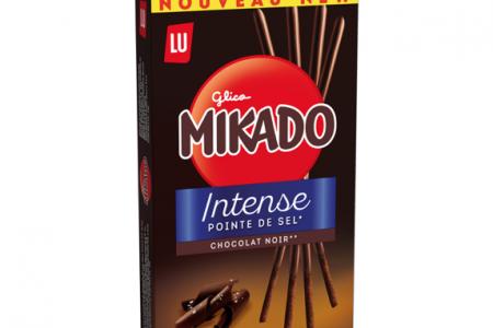 Mikado debuts dark chocolate biscuit
